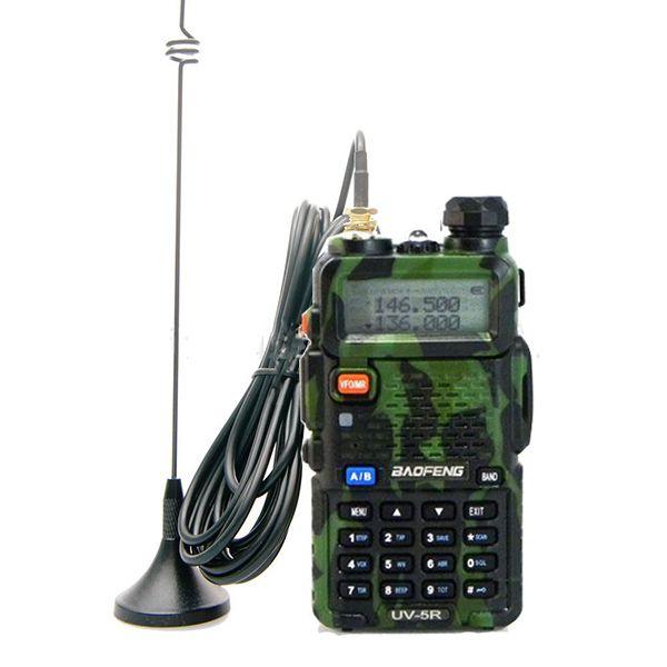 Antena magnética montada en el vehículo UT-108 de doble banda 144 / 430MHz para la radio del coche Baofeng Kenwood