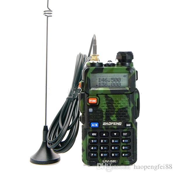 UT-108 Antena magnética montada en vehículo de banda doble 144 / 430MHz para radio de coche Baofeng Kenwood