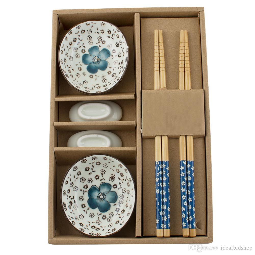 Color Blue Wholesale Dinnerware Set Japanese Tableware Set Ceramics Sushi  Saucer Set For Two In Gift Box 460554 Christmas Dinnerware Sets On Sale  Christmas ...