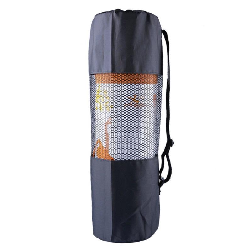O novo tipo de esportes ao ar livre à prova d 'água portátil multifuncional respirável malha yoga mat pacote Yoga Bag preto
