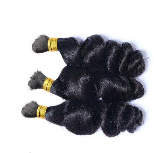 Kaufen 3 Los Lose Brasilianisches Haar Groß Für Flechten 100g Mensch Kein Schuss Brasilianisches Haar Micro mini Flechten Großhaar