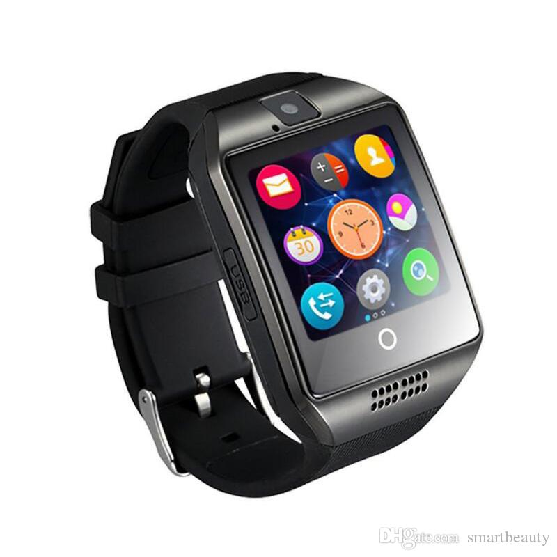 Bluetooth Smart Watch With Camera FM Facebook SMS MP3 Smartwatch Support Sim Card For IOS Android Phone