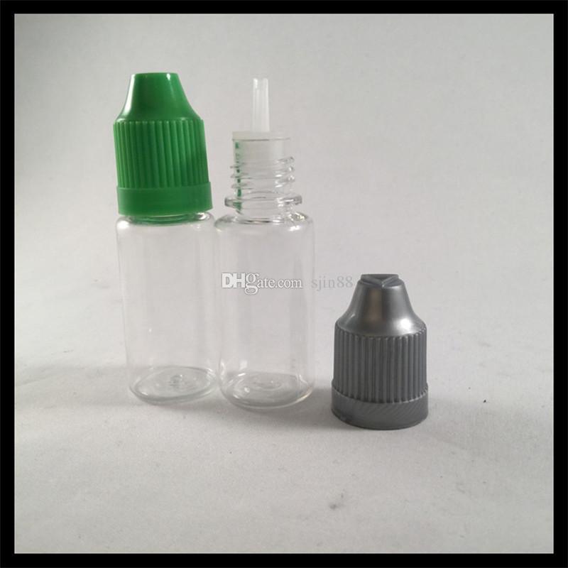 Childproof 캡과 바늘 팁 병 10 ml PET 병 E 액체 Dropper 병 전자 담배에 대 한 병