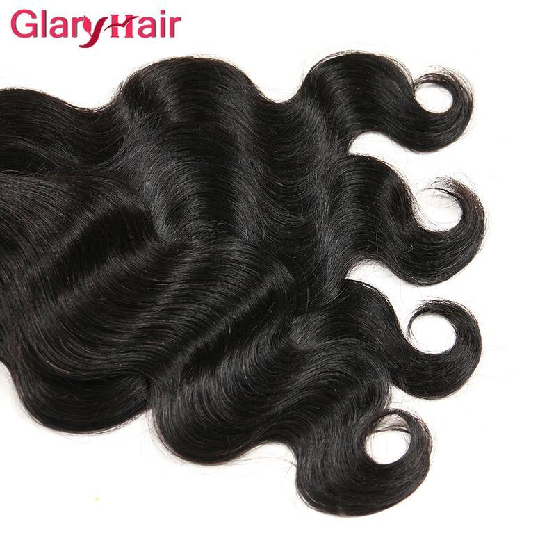 Toptan Brezilyalı Bakire Saç Atkı Malezya Hint Moğol Perulu Vücut Dalga İnsan Saç Dokuma Paketler Ucuz Örgü Saç Uzantıları