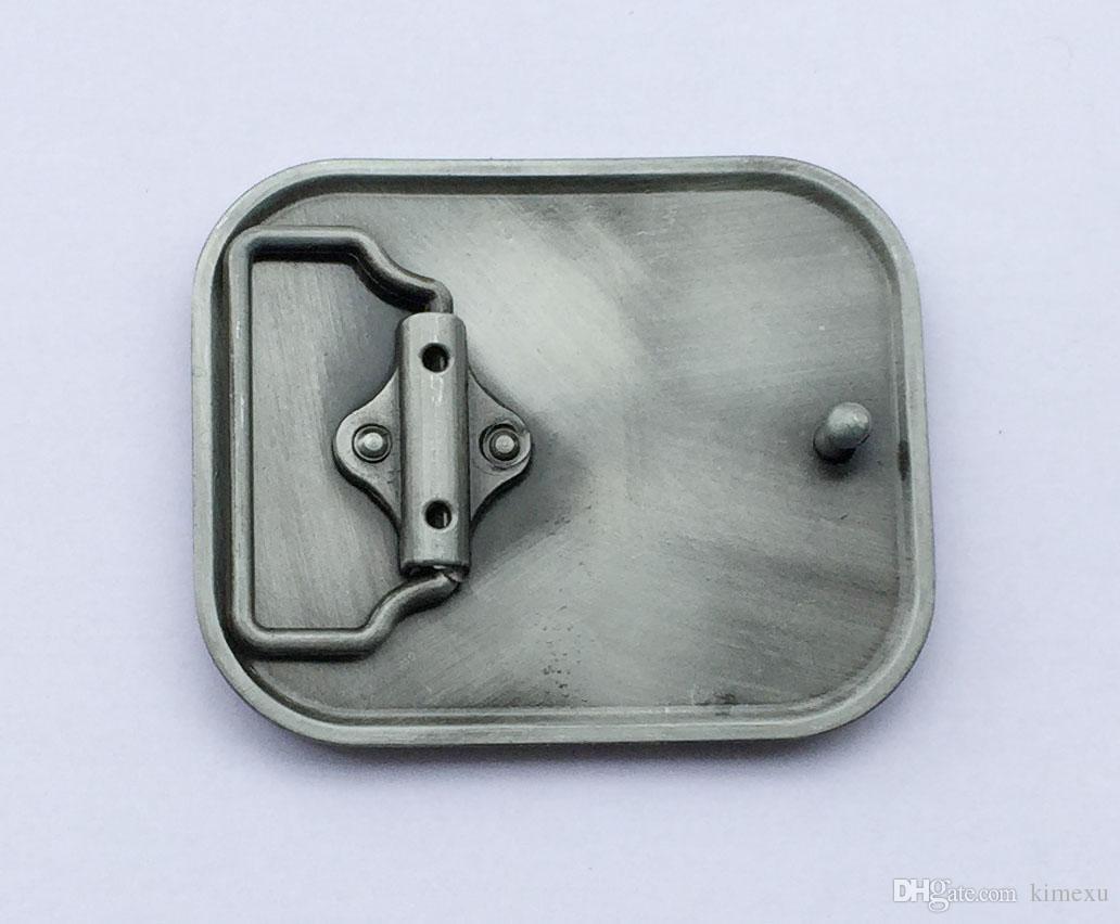 Moda Kemer Toka kemer tokası 4 cm wideth için uygun gümüş kaplama SW-BY11251 sürekli stoku ile kemer geçmeli