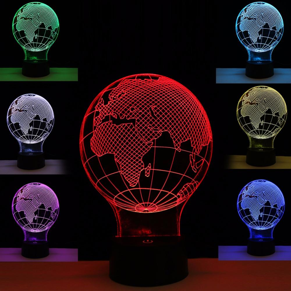 2018 2017 3d lamp night light new year gifts globe world map night 2018 2017 3d lamp night light new year gifts globe world map night light usb led table desk lampara home bedroom reading nightlight from xxf159 gumiabroncs Gallery