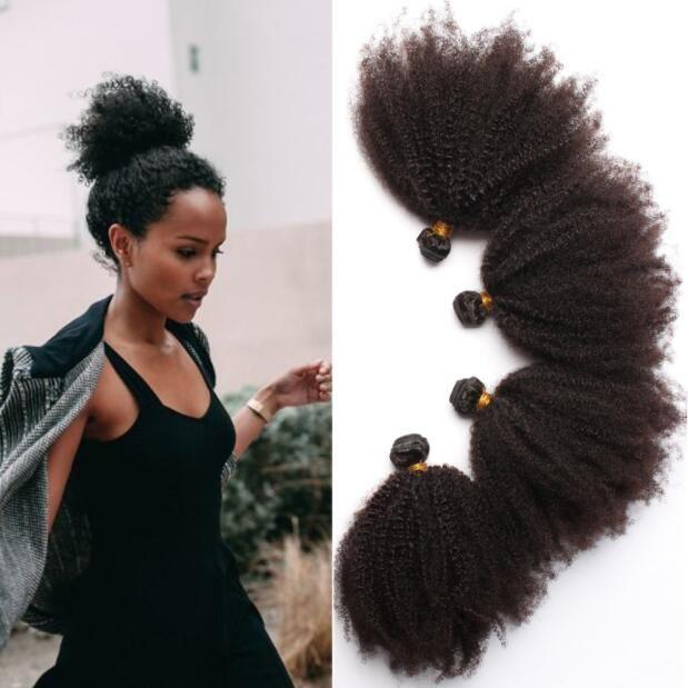 Brazilian Curly Hair 8bundles Short Kinky Curly Human Weft Brazilian