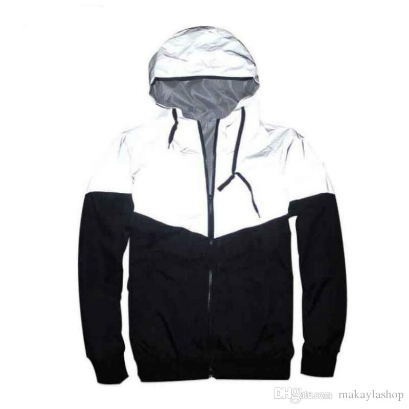 b0f656fffbc2 2019 New Arrival Men Jacket Spring Patchwork Reflective Waterproof  Windbreaker Men Coat Trend Brand Hot Sale From Makaylashop