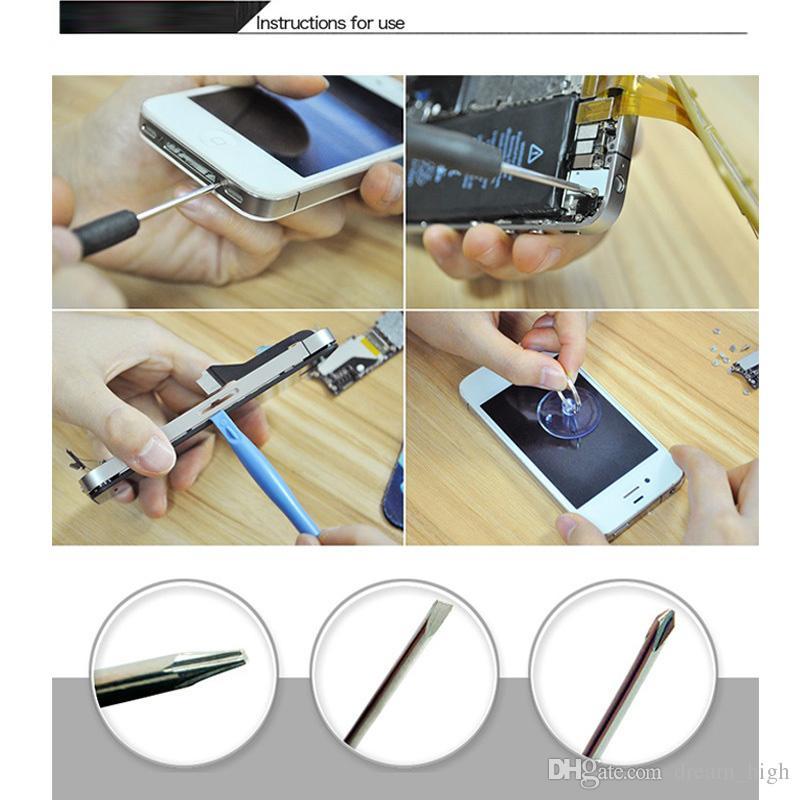 8 قطع في 1 مفك مجموعة أدوات افتتاح الدقة اليد تفكيك طقم إصلاح موبايل فون 4 5 ثانية 6 ثانية 7 أداة تشخيصية multitool