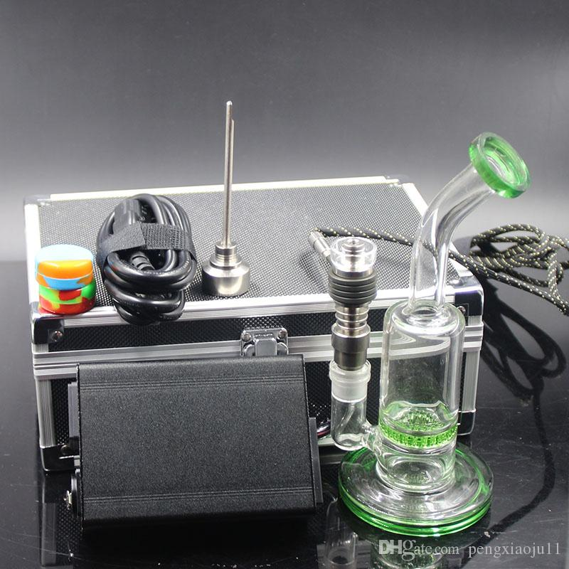 Cheap electric Nails electronic nail for Glass bong wax rig PID digital box Quartz nail