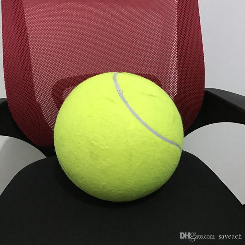 Giant Inflatable Jumbo Tennis Ball for Sports, Pets, Souvenier - Tennis Ball Activity Play Signature Souvenier - Pets Dogs Children Toys