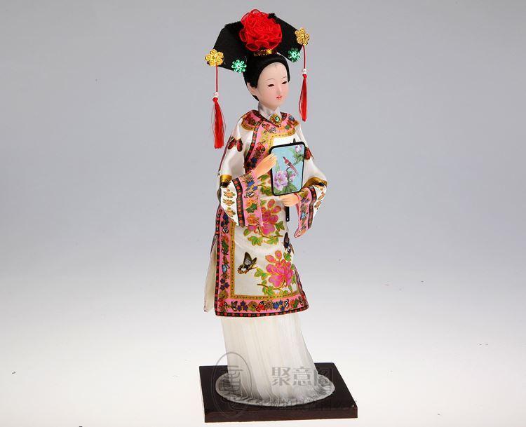 Tang Fang marca Cina bambola di seta ornamenti Princess Qing persone signore decorazioni la casa