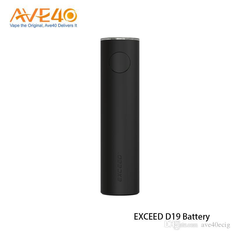 Authentic Joyetech EXCEED D19 Box Mod 1500mAh Battery Built-in Fit for D19 Atomizer 2ml Tank EX MTL Head EX DL Vape Coil