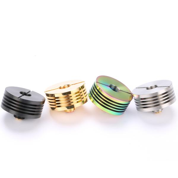 Heat Sink Adaptor Copper Contact both Pin adjustable 22mm 24mm Deep heat sink adapter for 510 RDA Atomizers E Cigarette heatsink DHL Free