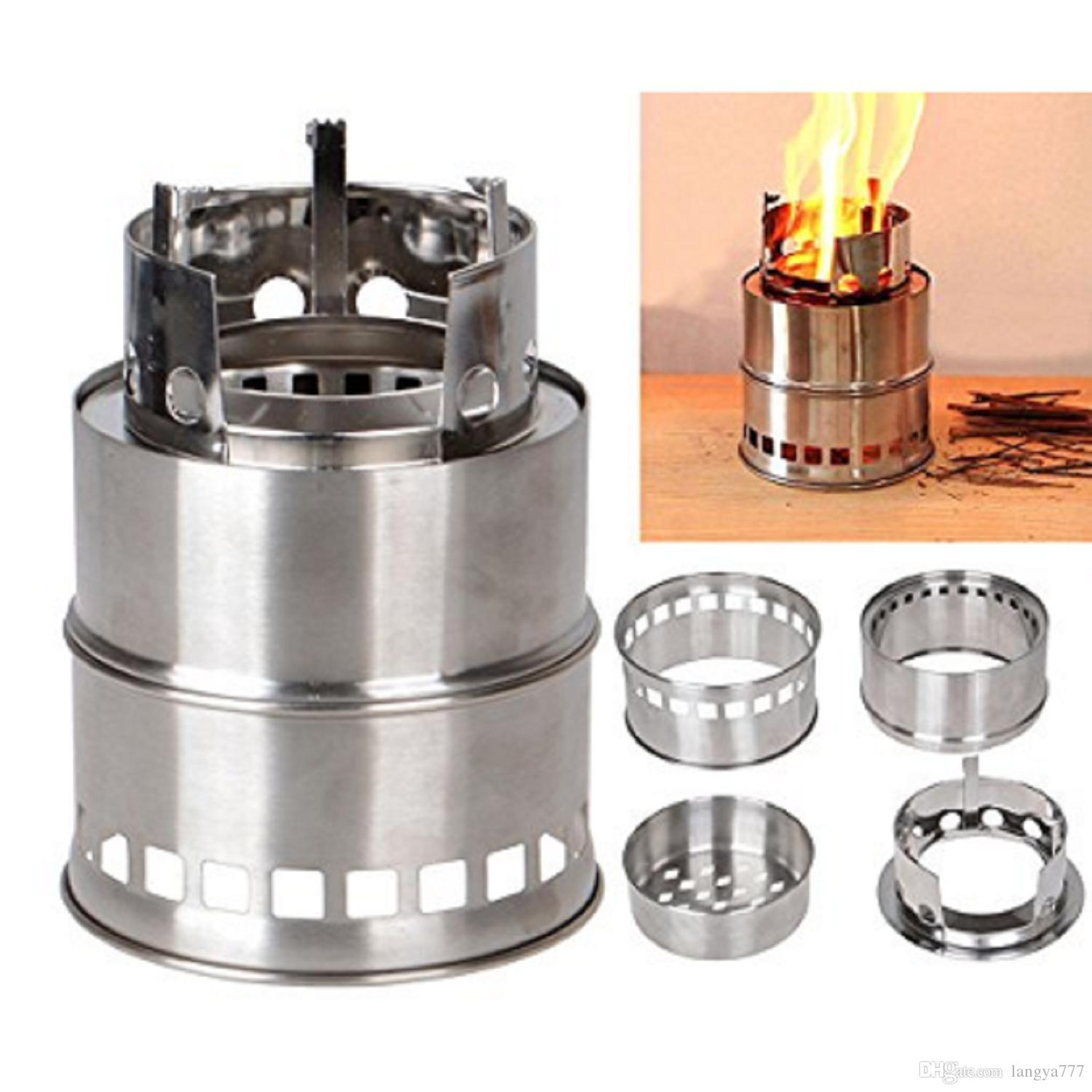Lightweight Backpacking Stoves: Portable Stainless Steel Camping Stove Lightweight