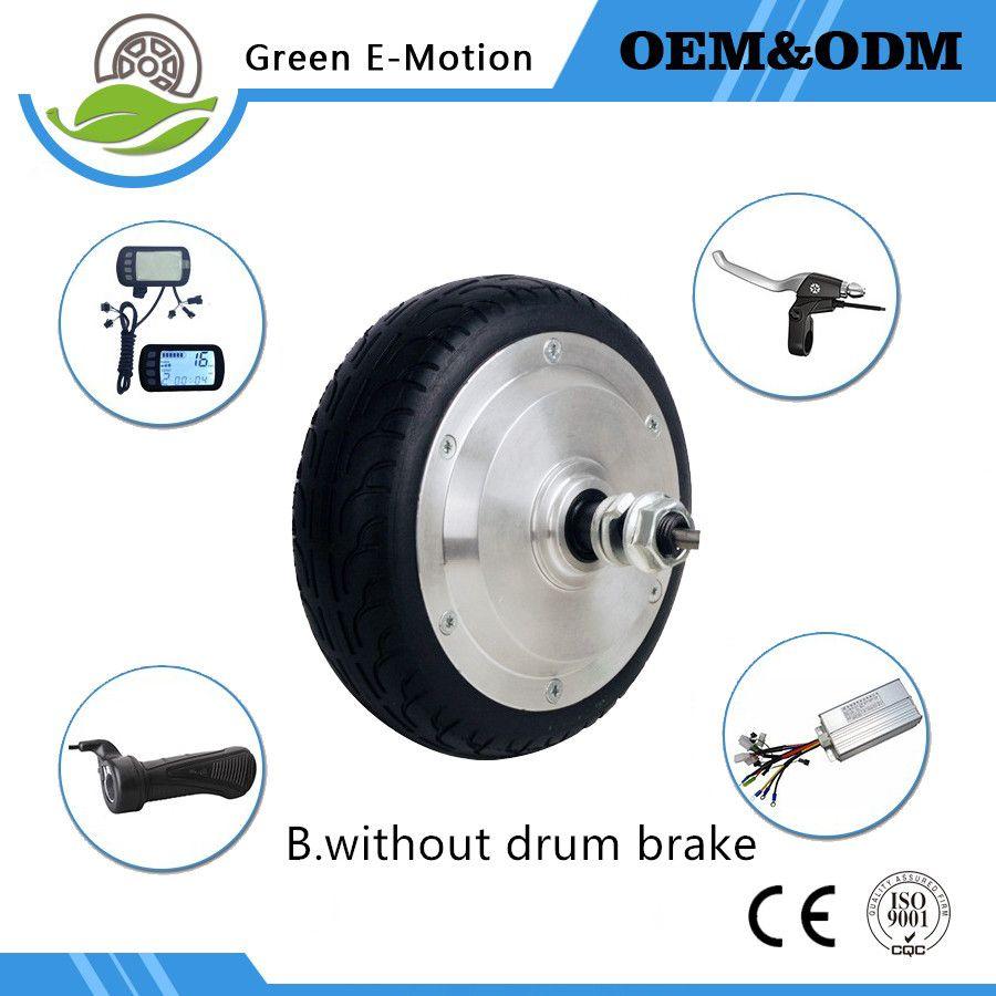6 inch electric rear wheel 36v 200w250w300w350w brushless hub motor  electric scooter motor electric bike bicycle wheel motor