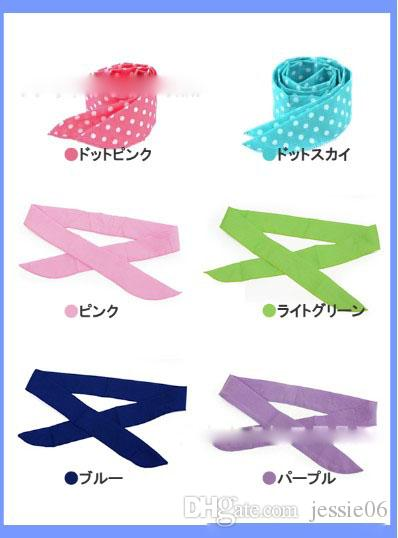 HOTTEST SELLING COOL WATER BAND Speed to Cool Towel Cooling Scarf Ties Neck Scarves mix color