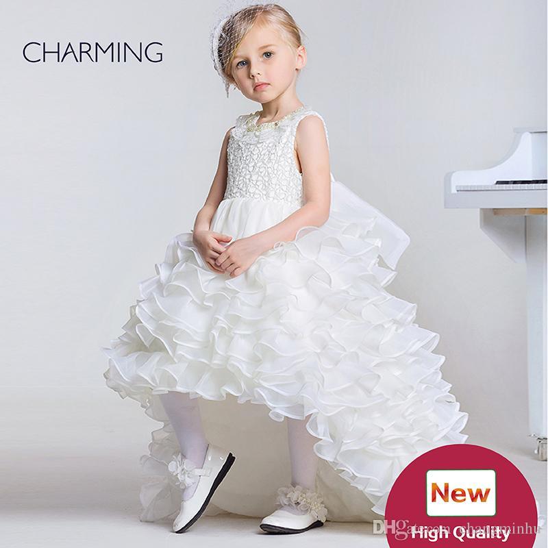 e902df15ab Dresses For Kid Girl Designer Kids Dresses Flower Girl Dress Ivory High  Quality Pageant Dresses For Girls China Suppliers Long Sleeve Flower Girl  Dresses ...
