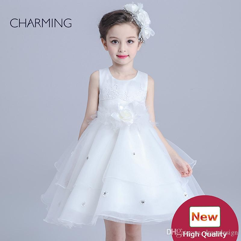 fd2a6803a Flower Girl Dresses China Wholesale Designer Flower Girl Dresses Modern Kids  Clothes Childrens Boutiques Retail Supplies Wholesale Ivory Flower Girls  Dress ...