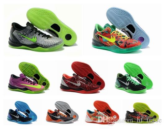 new products kobe 8 viii basketball shoes for men high quality kb viii christmas sneakers outdoors athletics shoes christmas eur 36 46 men basketball shoes