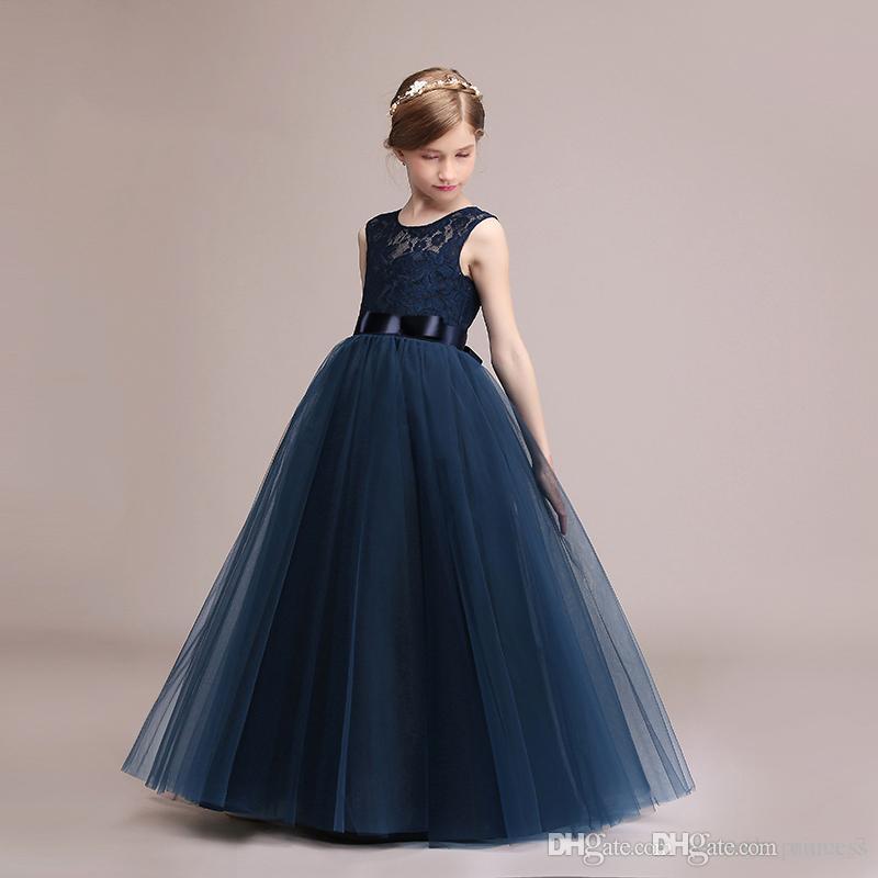419ba19662f29 Satın Al Çocuk Giysileri Çocuk Doğum Günü Düğün Parti Elbise Hediye ...