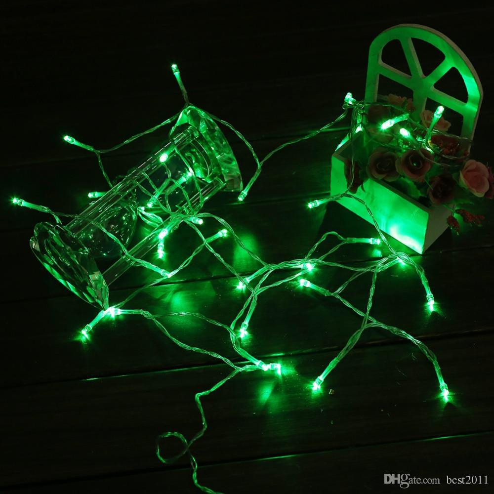 Battery Powered 4M 40leds LED String Light 4.5V Portable Fairy Lights Christmas New Year Party Wedding Decoration Light