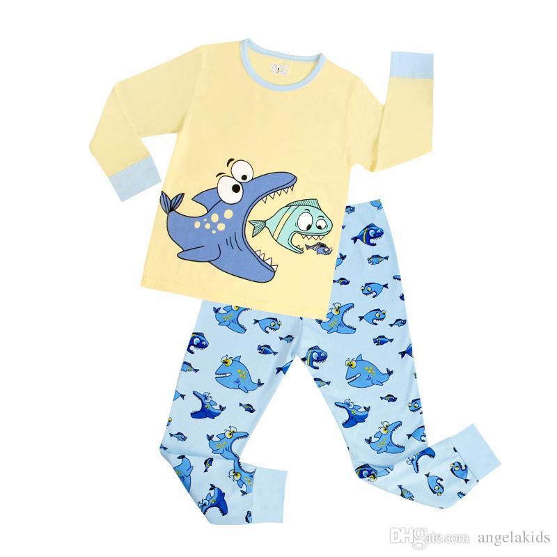 f0b7211385f4 Toddler Owl Sleepwear Baby Kids Toddler Boys Clothes Sleepwear Pajama Set  2T 7T Girls Long Sleeve Clothes Blue Sleepwear Pajama Sets Kids Matching  Pajamas ...