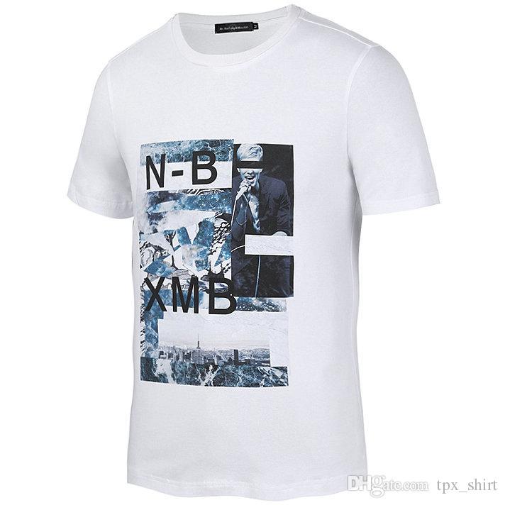 562e7f0e21d8f De Vestido Compre Camiseta Corta Xmb Manga Nb Cantante Garabato cxqZFBa