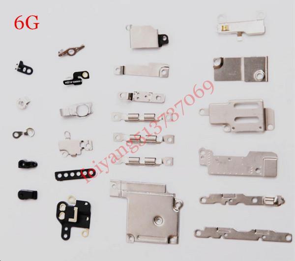 5 satz Original 24 in 1 Ersatzteile Innen Zubehör Kleine Teile Metall für iPhone 6 6 plus Befestigung Klammern Ersatz