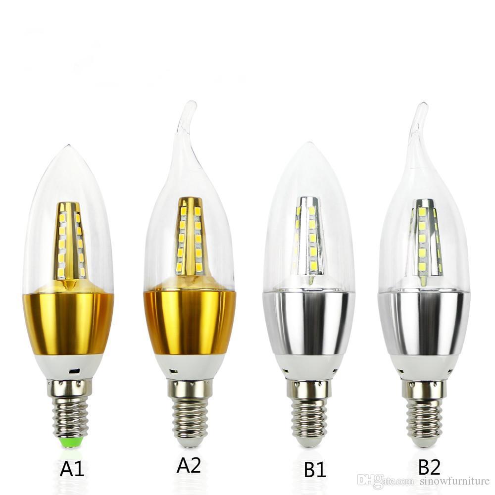 E14 Led Candle Energy Crystal Lamp Saving Lamp Light Bulb Home ...
