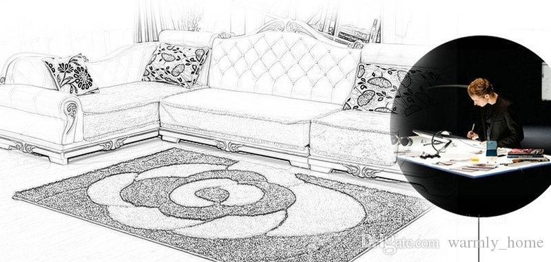 Hohe Qualität Teppiche Schlafzimmer Teppiche Matten Schützen Boden Pad Matting Rest Abdeckungen Footcloth Fußmatten für Schlafzimmer Schlafzimmer Kostenloser Versand