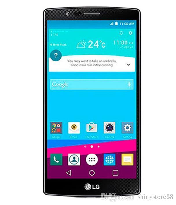 Remodelado original lg g4 h810 h811 h815 vs986 desbloqueado telefone celular 5.5