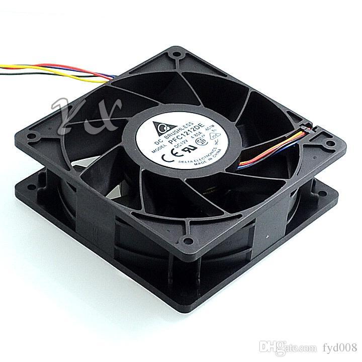 New Taida PFC1212DE 12038 12 v 4.8A 12 cm large airflow double ball fan violence