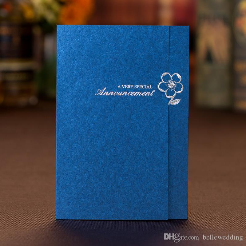 Wedding invitations sets free printing with gilding flower royal wedding invitations sets free printing with gilding flower royal blue personalized chinese wedding invitations cards bw i0028 wedding card invitation filmwisefo