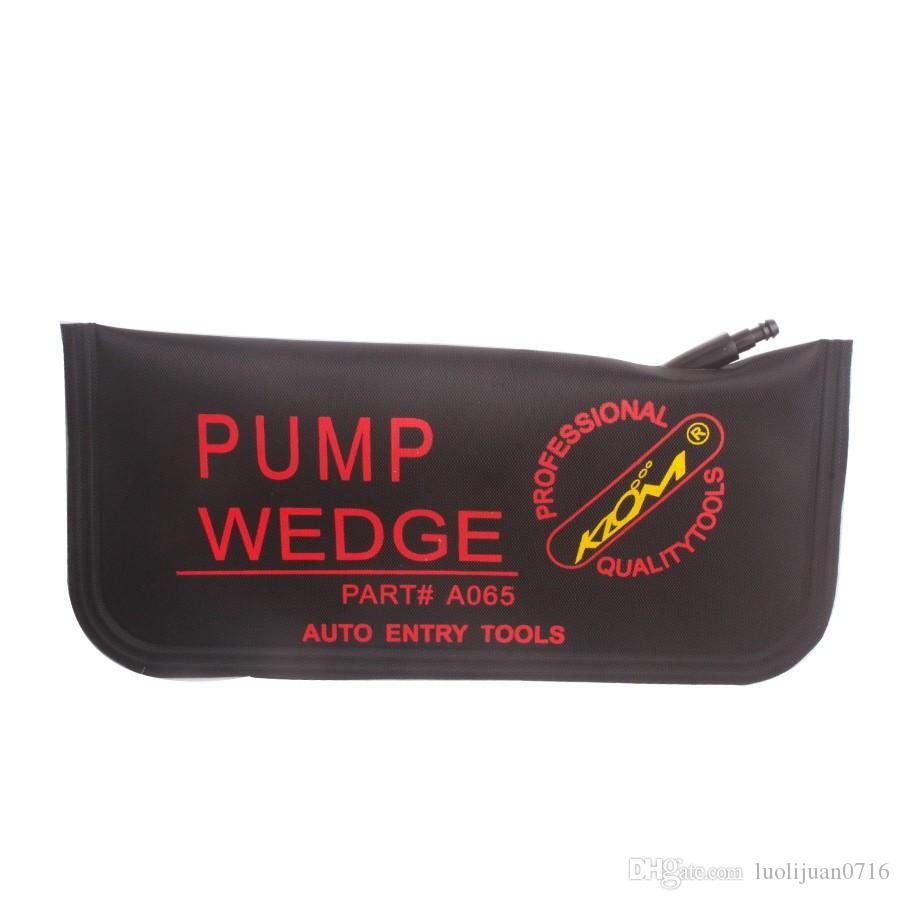 NEW KLOM black air pump wedge bag inflatable unlock door car auto tool big size 280 x125mm