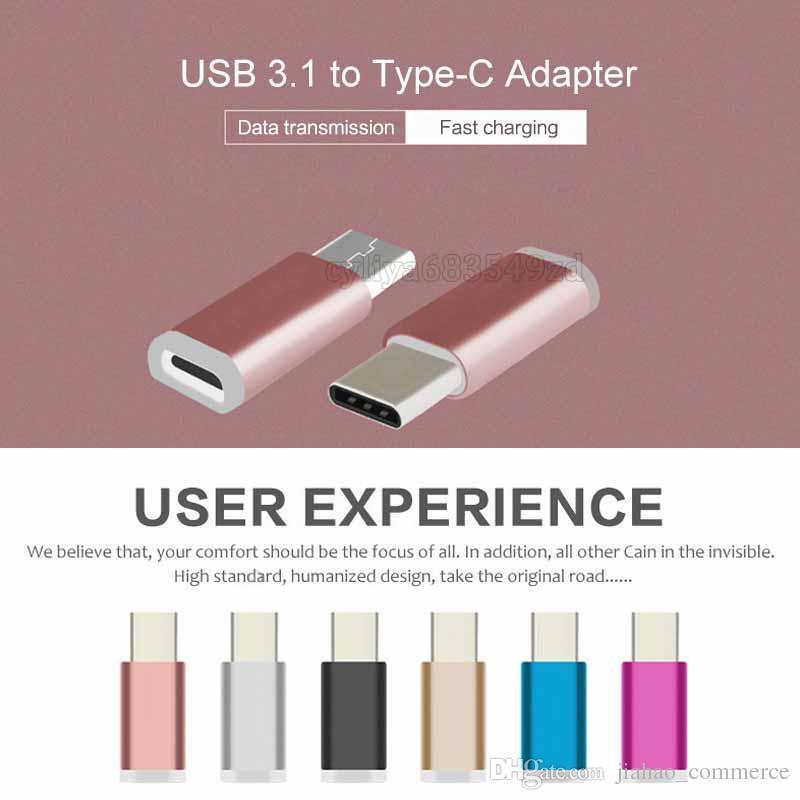 USB Тип C 3.1 Кабель USB-C зарядное устройство Адаптер для Micro Usb Конвертер для Oneplus 3 3t One Plus 2 / Nexus 5x / Sony Xperia Xz X Compact
