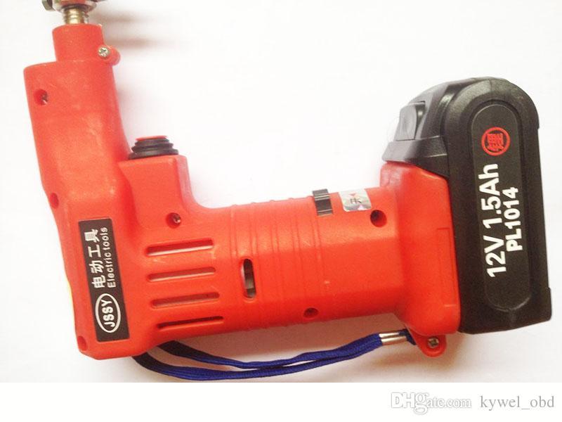 ホット電子バンプピック銃のぶつかるピックヘッドの25桁のぶつけのピックヘッドロック工具リチウム電池送料無料