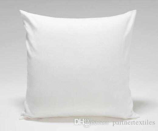 40x40 Inches Pure White Throw Pillow Case Blank White Decorative Delectable Blank Pillow Covers Wholesale