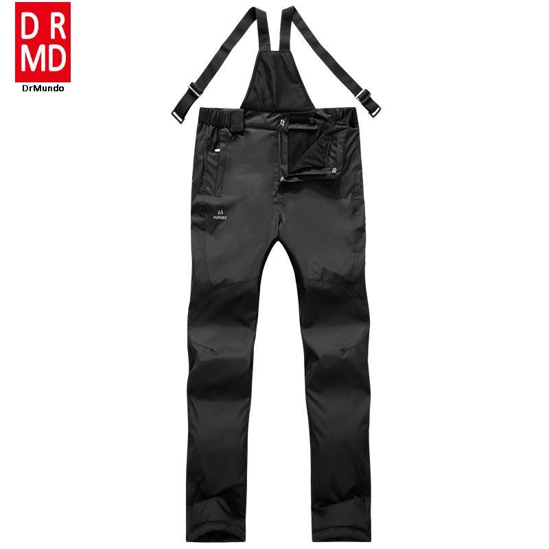 Wholesale- Winter Waterproof Men Sling Snowboarding Pants Thicken ... c01943637
