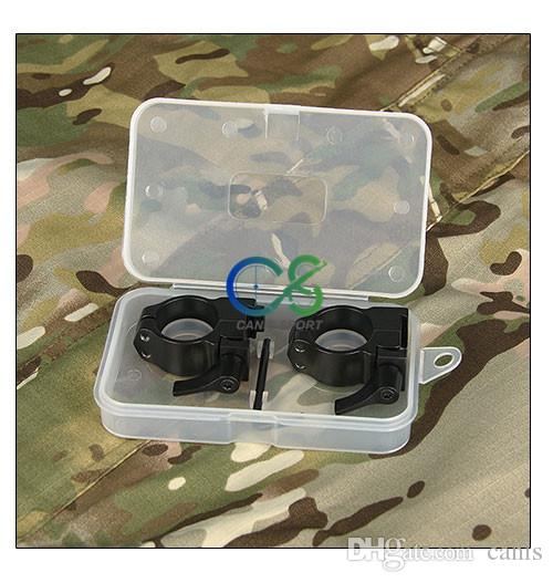 Tactical Accessories Quick Detachable Scope Mount 25.4mm Diameter 20mm Base Rail For Outdoor Sport Use CL24-0130