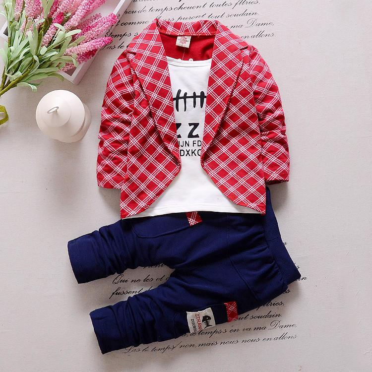 Spring Autumn Baby Boys Girls Casual Clothing Sets Brand Fashion