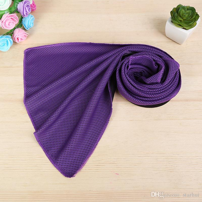 88*33cm Ice Cold Towel Cooling Summer Sunstroke Sports Exercise Cool Quick Dry Soft Breathable Cooling Towel WX-T13