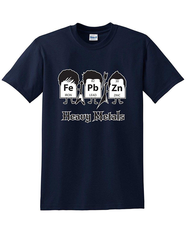 Compre Heavy Metal Tabla Periódica Ciencia Y Nerd BEEFY T SHIRT A  11.01  Del Bstdhgate06  9f24fd25fc680