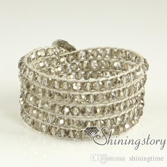 bracciali con mocuba bracciali da donna wrap bracciali in pelle gioielli bracciali in pelle fresca