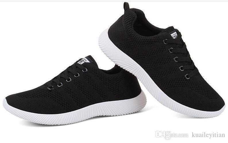 93629245074 Men Women Casual Shoes Breathable Lace-Up Walking Shoes Spring ...