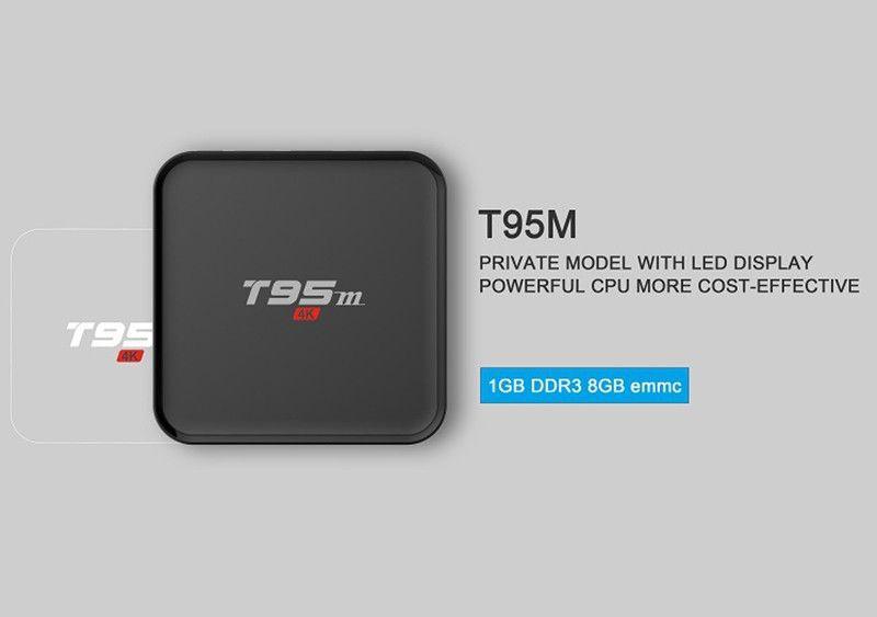 Ricevitore satellitare TV Box T55M Quad Core Android TV 1080P HDMI WiFi 8GB 4k