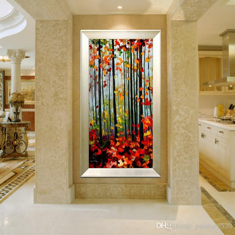 High Quality Modern Living Room Room Simple Decorative Style Canvas Oil Painting Hand Painted Palette Oil Painting JL428