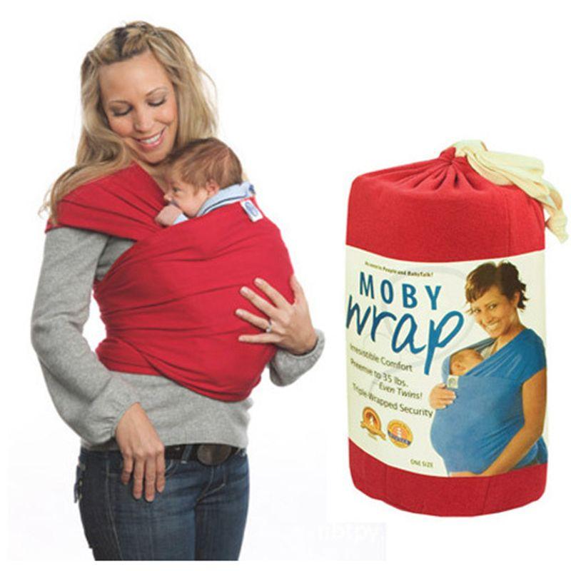 DHL Hızlı Kargo 6 Renk pamuk katı bebek taşıyıcıları Bebek Emzirme Sling Bebek Sıkı bebek Wrap Sırt Çantası çocuklar Emzirme hipseat
