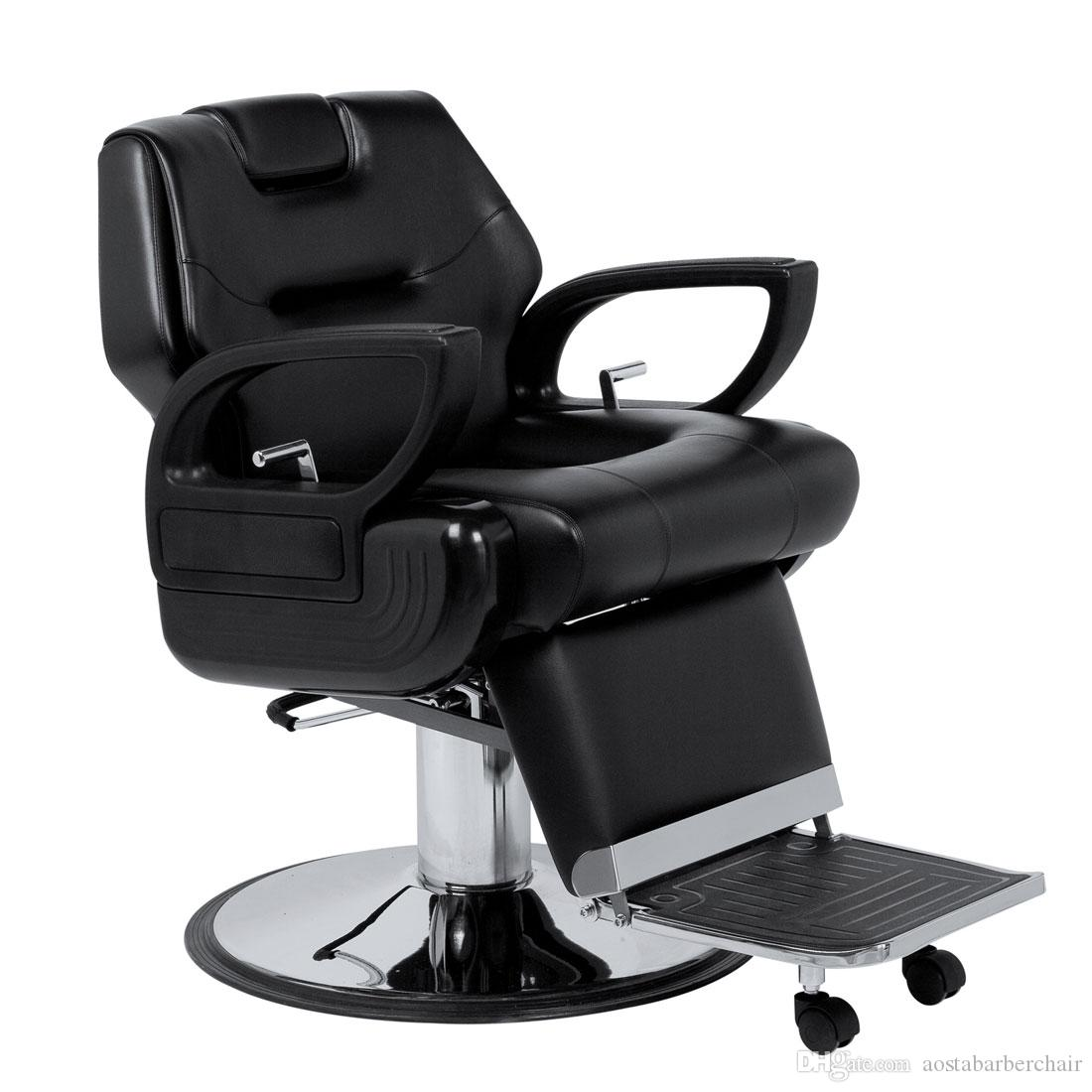 Black salon chairs - 2017 Black Barber Chair For Man Hot Sale Salon Chairs Modern Barber Chair Comfortable Hairdressing Chair From Aostabarberchair 211 06 Dhgate Com