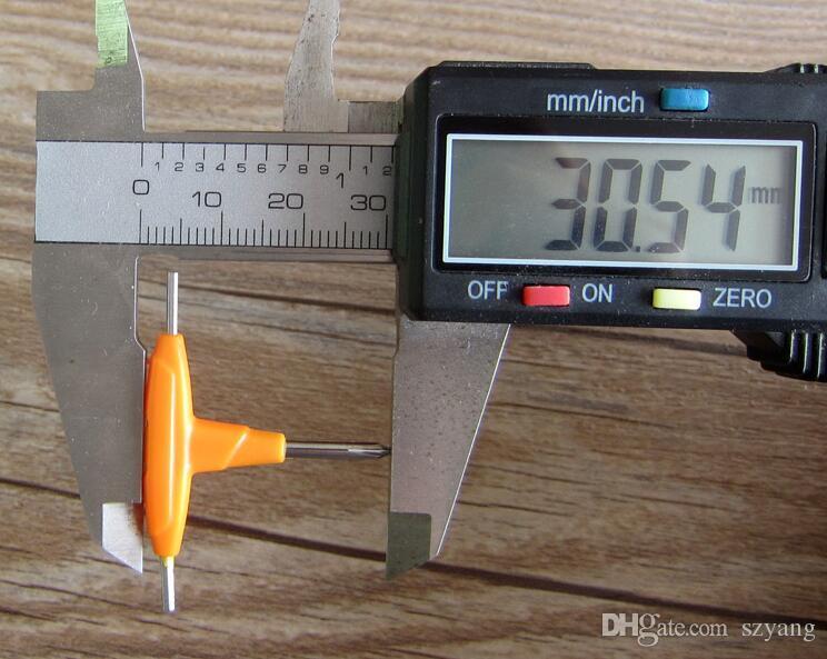 Dhl Free Small T-shaped Screwdriver Mini Cross Hexagon Screw Driver Screw-driver Special for RDA RBA Atomizer Accessories